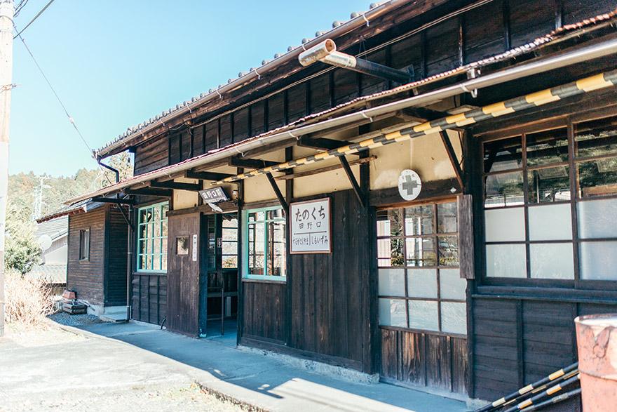 大井川鐵道田野口駅