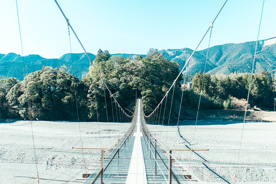 塩郷つり橋